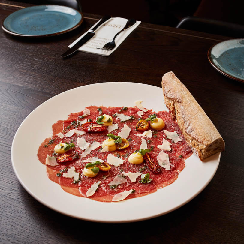Beef Fillet Carpaccio