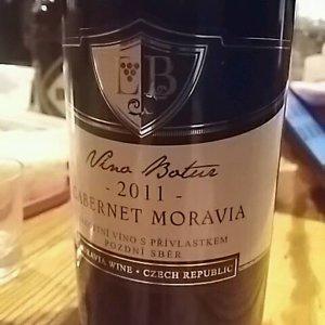 Víno Botur- Cabernet Moravia 2011
