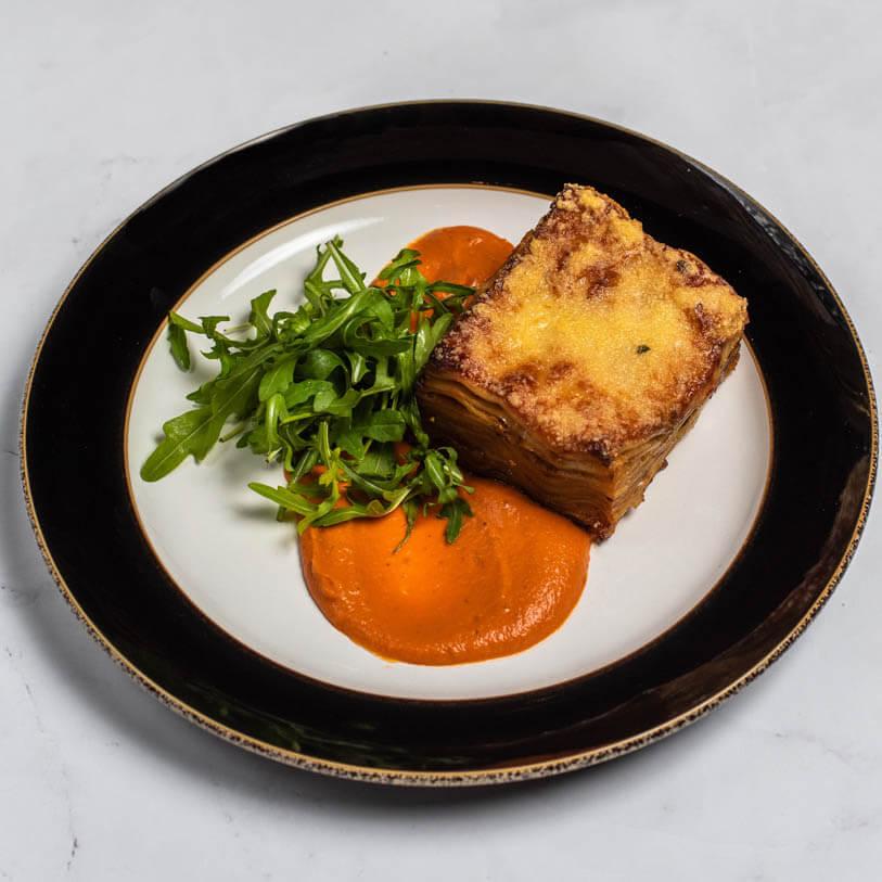 Zeleninové ratatouille lasagne
